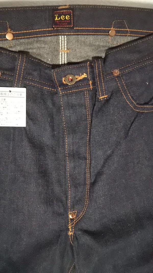30s Lee Cowboy Pants Dead stock Reprint 5