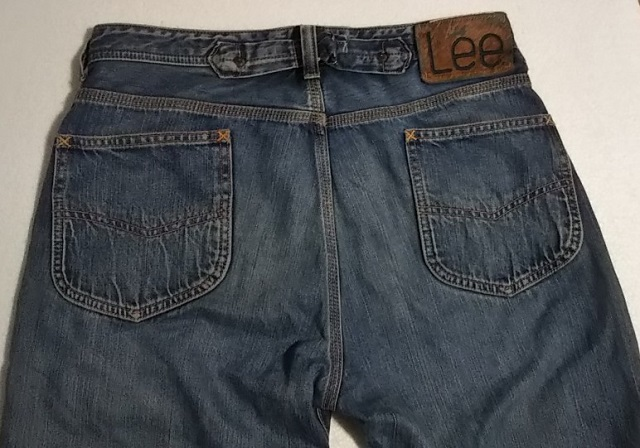30s Lee Cowboy Pants Reprint Back pocket