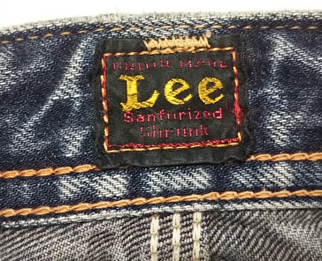 30s Lee Cowboy Pants Reprint Center red tag