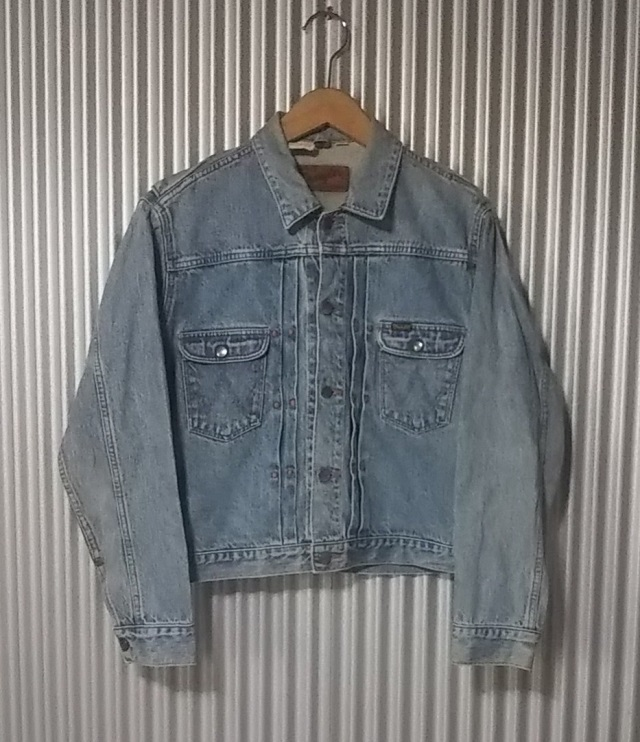 50s Wrangler 11MJ Western Jacket Front view