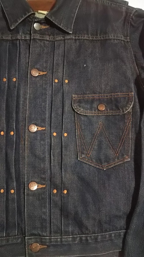 50s Wrangler 11MJ Western Jacket Pleated & front pocket