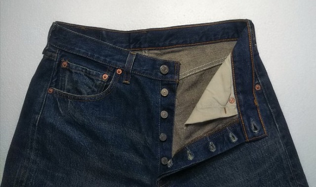 Levi's501 JEANS Made in USA Made in 2000 Button fly