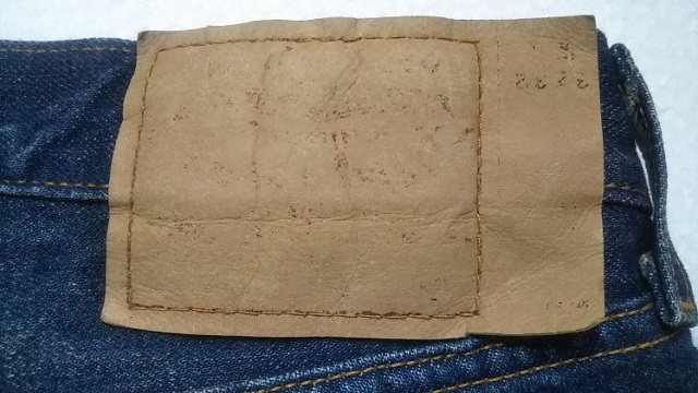 Levi's501 JEANS Made in USA Made in 2000 Paper label