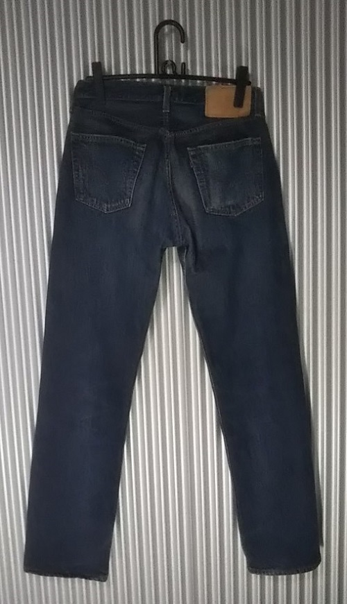 Levi's501 JEANS Made in USA Made in 2000 Rear