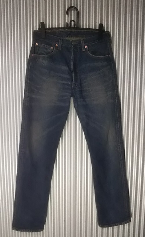 Levi's501 JEANS Made in USA Made in 2000 front