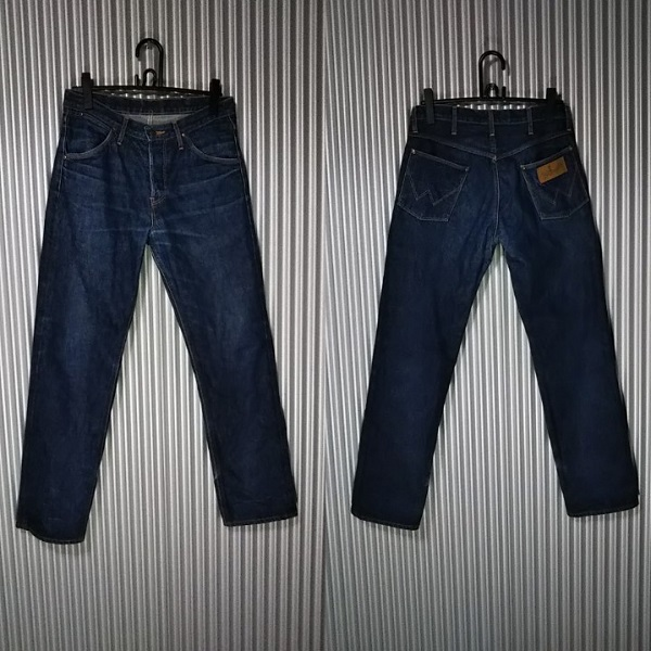 【Wrangler】ARCHIVE '64Model 10MW Made in Japan Front and back