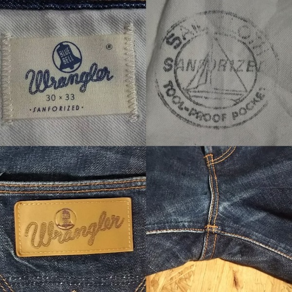 【Wrangler】ARCHIVE '64Model 10MW Made in Japan Detail