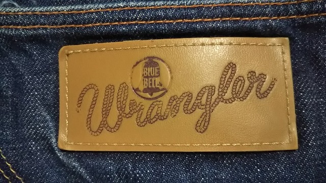 【Wrangler】ARCHIVE '64Model 10MW Made in Japan Leather label