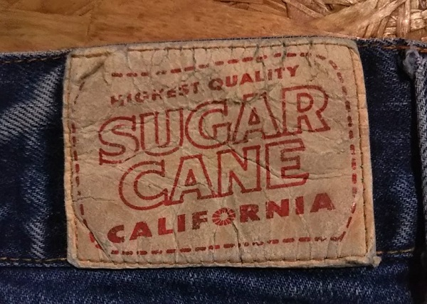 Tailor Toyo SUGAR CANE Bush pants Paper label