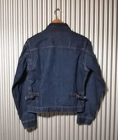 50s Wrangler 11MJ Western Jacket Rear side
