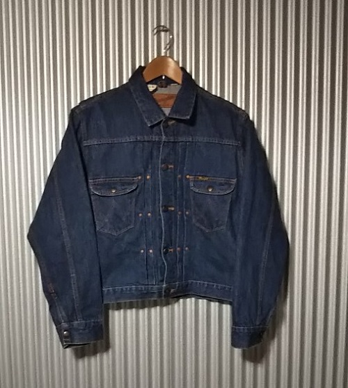 50s Wrangler 11MJ Western Jacket Front side
