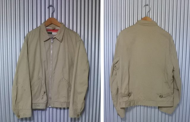 Vintage 60s Penney's BIG MAC Chore Jacket Talon zipper blanket Work jacket Detroit jacket lvc -2