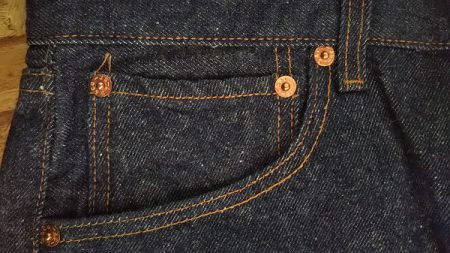 90s Levi's501 Made in USA W31 1999 made Coin pocket