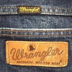 90s Wrangler Selvedge denim jeans Made in JAPAN