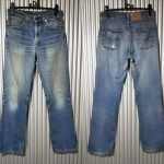 VTG 1980s Levi's 517 Made in USA W32