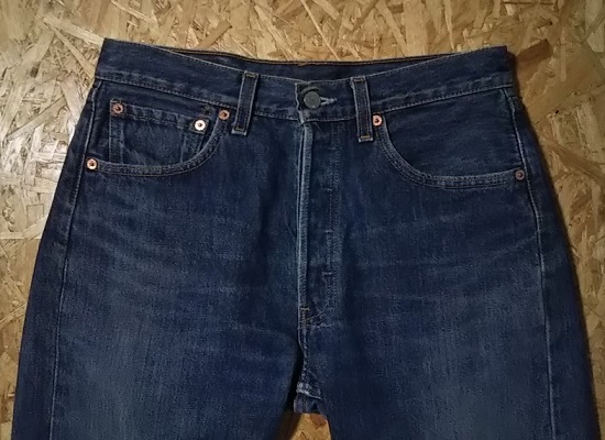 90s Levi's501 Made in USA W31 1999 made Front side
