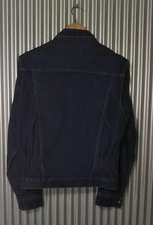 50s Wrangler 11mjz prototype denim jacket Western jacket Backside