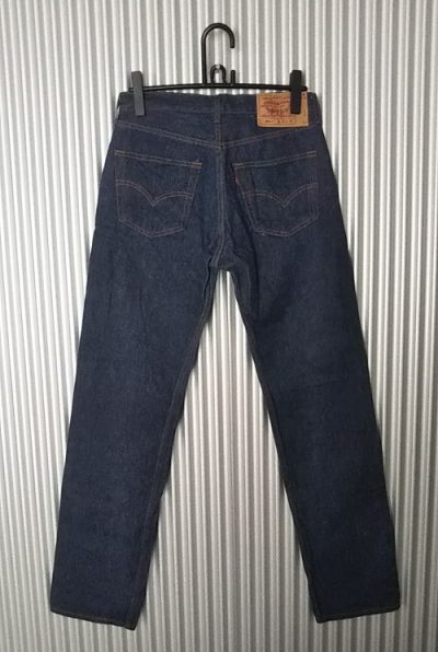 90s Levi's501 Made in USA W31 1999 made Rear side
