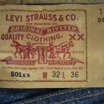 90s Levi's501 Made in USA W31 1999made