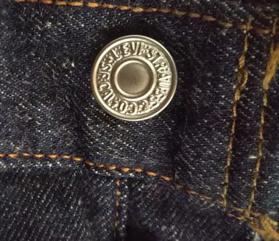 90s Levi's501 Made in USA W31 1999 made Top button