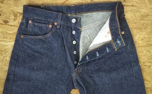 90s Levi's501 Made in USA W31 1999 made Button fly