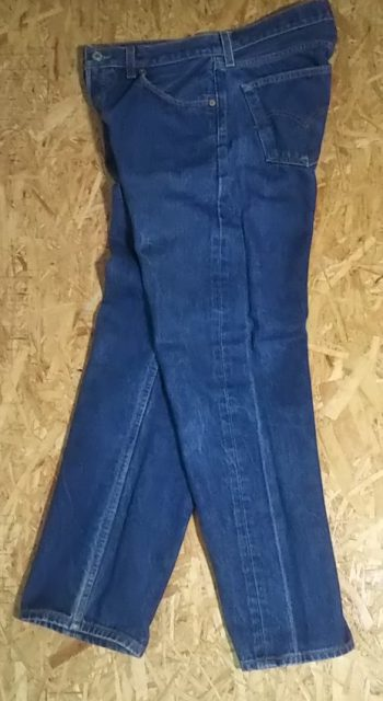 90s Levi's501 Made in USA W32-33 1999 made The creases are white