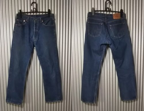 90s Levi's501 Made in USA W32-33 1999 made