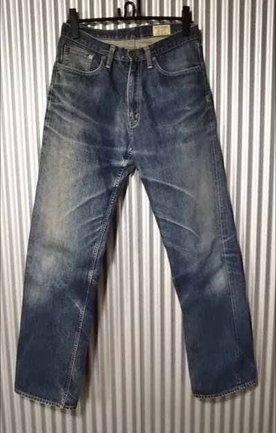 BIG JOHN Lot1002 Shrink to Fit Selvedge Jeans