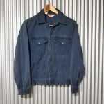 70s Levi's Twill Tracker Jacket Color denim jacket