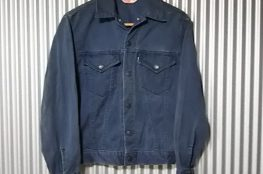 70s Levi's Twill Tracker Jacket Color denim jacket vintage 34 USA made