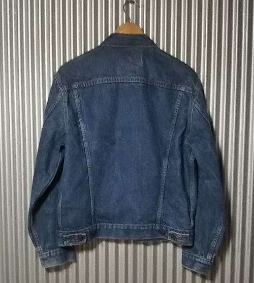 90s Levi's 70506 Made in USA 38 Vintage 1990 Made Rear side