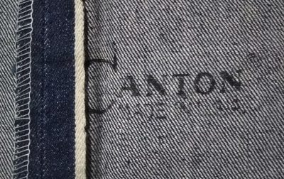 "60sCANTON jeans ""CANTON Made in USA""."