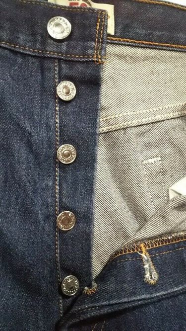 Levi's501 JEANS W35 Button fly