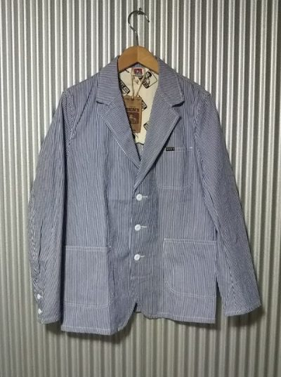 BEN DAVIS Hickory Chore coat Chore jacket Sack coat Work wear Dead stock