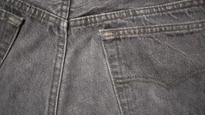 1980s-90s Levi's 501 Made in USA W32 No Red tab