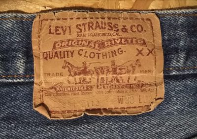 80s Levi's501 Made in USA W30-31 1987 made Paper label