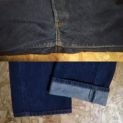 90s Levi's501 Made in USA W31-32 1999 made Crotch and hem