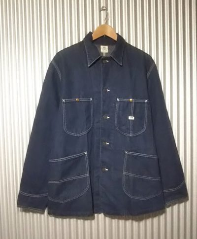 Lee 91-J chore jacket Japan planning Size38 Front side