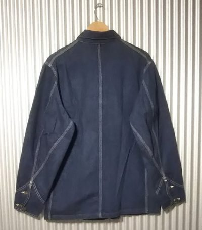 Lee 91-J chore jacket Japan planning Size38 Rear side
