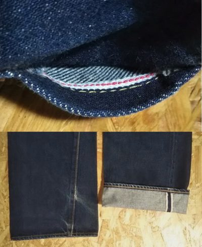 SEWING CHOP 502B by John Bull W29-30 Selvedge in pocket and out seam selvedge