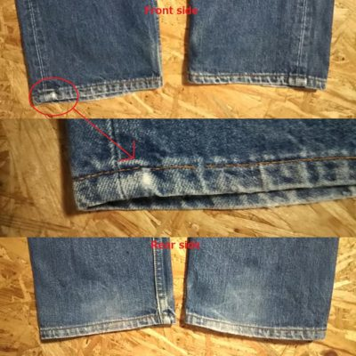2000made Levi's 501 Made in USA w31-32 Hem