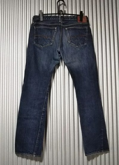 STUDIO D'ARTISAN SD-107 15oz Selvedge Super tight W34-35 Japan made Back view