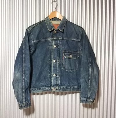 LVC 90s Levi's 70502XX 1st type denim jacket size38