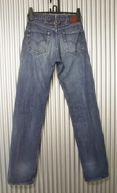 "LVC 90s Levi's 702""30s 501 reprint"" 140th anniversary Japan mode W28-29 Rear view"