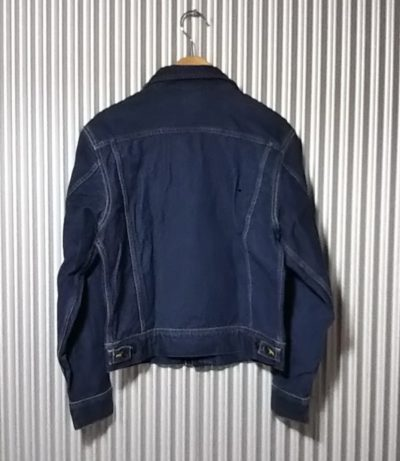 40s Lee Riders Jacket Reprint 90s made japan made Rear side