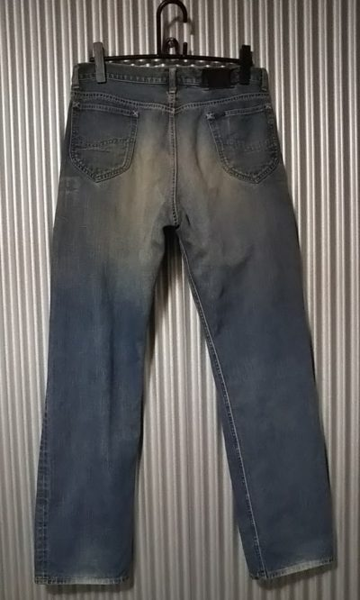 Lee Riders 101Z Jeans. 1952 Reprint Back view