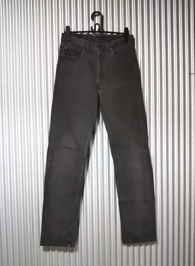 1990s Levi's 501 Made in USA 1992 made Black W31-32 L33