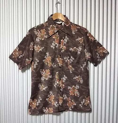 """70s """"Sears"""" polyester shirt."""
