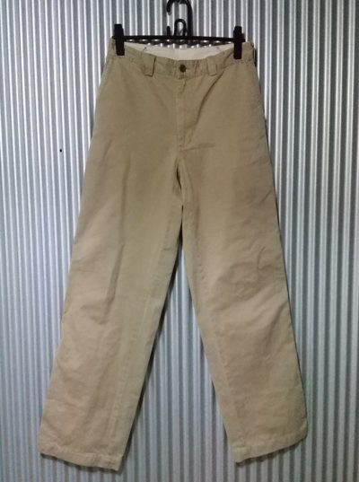 """90s Levi's Work Pants """"Levi's Workers"""" series CHINO PANTS Made in Japan"""