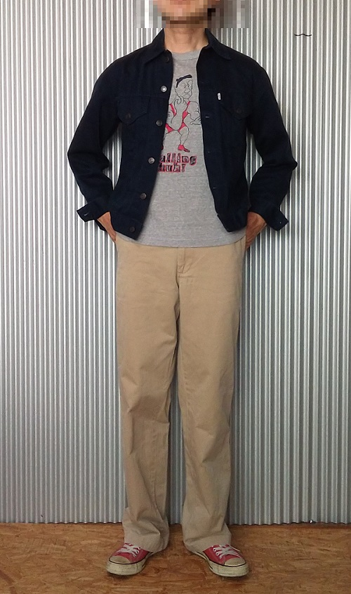 """Wearing image 2 = 90s Levi's Work Pants """"Levi's Workers"""" series CHINO PANTS Made in Japan"""